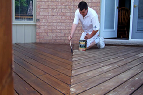 Deck Painting Red Deer Services Near Me
