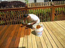 Deck Painting Red Deer Services